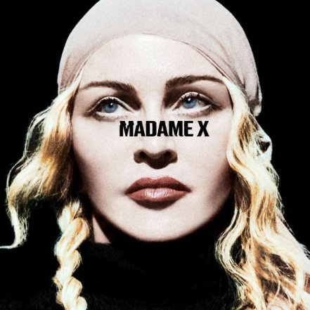 """The Deluxe Album Cover for """"Madame X""""."""