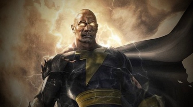 "First Look | Dwayne ""The Rock"" Johnson as BLACK ADAM"