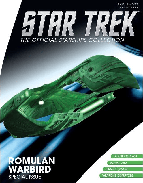 The magazine breaks down the design of the ship as it appeared in the 2nd Season of ST:TNG.