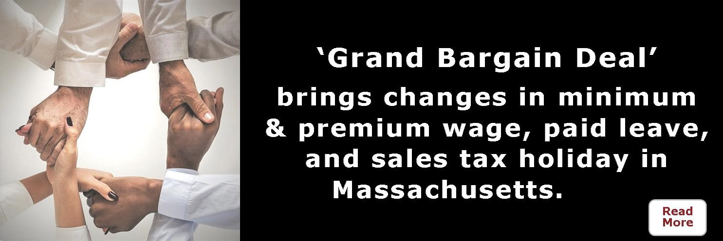 'Grand Bargain Deal' makes changes in Massachusetts.