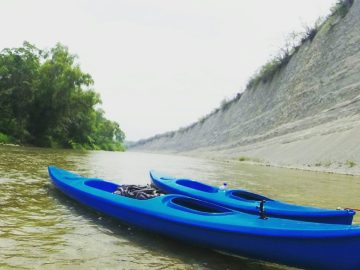 Kayak in the Huasteca Potosina