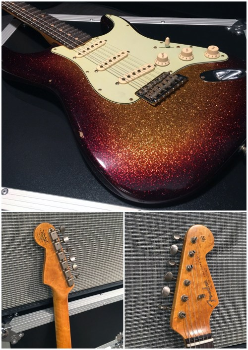 small resolution of fender custom shop gold at namm 17 the hub fender custom shop strat wiring fender custom shop telecaster wiring