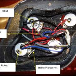 Emg Wiring Diagram Solder For Car Stereo With Amplifier Tech Tip How To Install Gibson Pickups In Epiphone Guitars The Hub Unsolder And Remove Pickup Wires