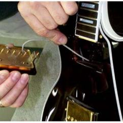 Gibson Les Paul Junior Wiring Diagram Bridge Rectifier Tech Tip How To Install Pickups In Epiphone Guitars The Hub Thread New Pickup Cable Cut Length