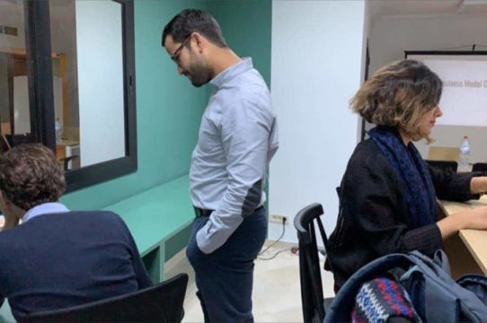 atelier canvas the hub coworking space tunis lac 1