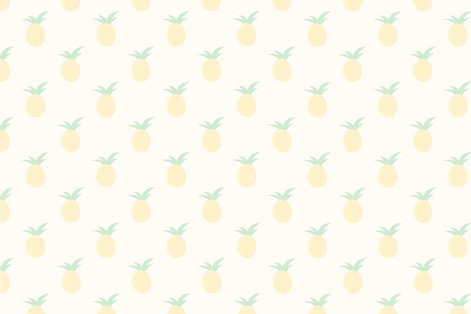 pineapple theme slide backgrounds clipart