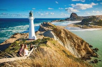 Castle Point lighthouse on the Wairarapa coast.