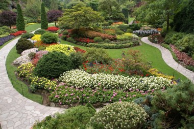 Located just north of Victoria, the world-famous Butchart Gardens are open year round with an abundance of floral displays.