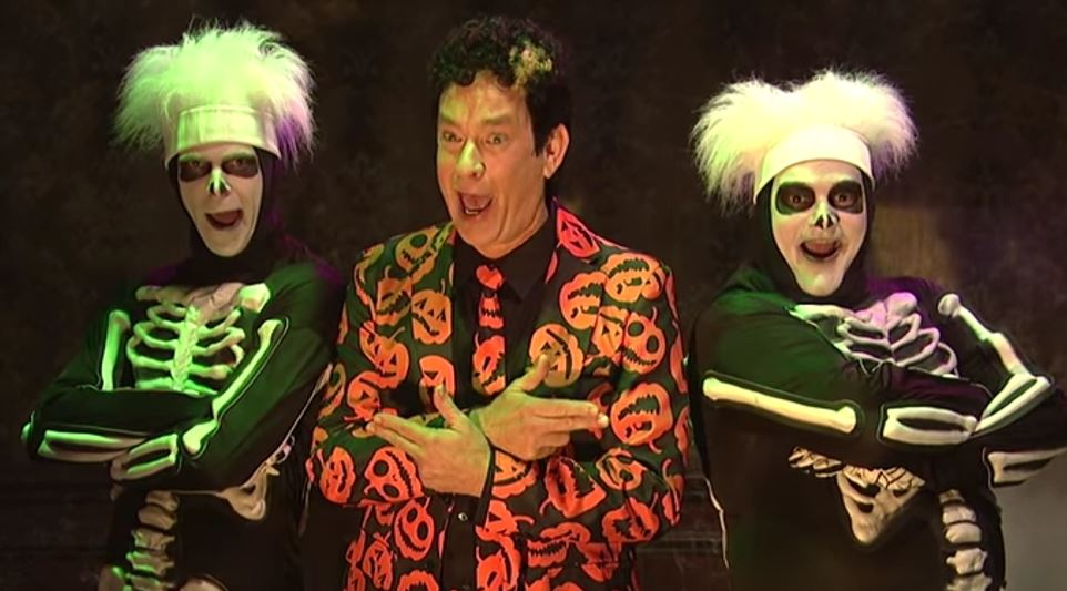 David S. Pumpkins Is Our Favorite Look This Halloween