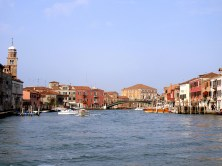 The island of Murano in Italy