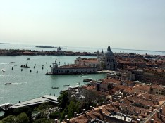 View of Venice, Italy from the Bell Tower