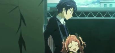 Black Bullet Episode 1-Rentaro and Enju close copy