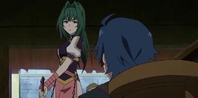Chaika The Coffin Princess-Akari angry