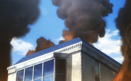 The Irregular at Magic High School Episode 6-Buildings after terrorist attack