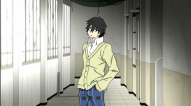 Shintaro looking for Ayano-Mekakucity Actors anime series review [The Huge Anime Fan]