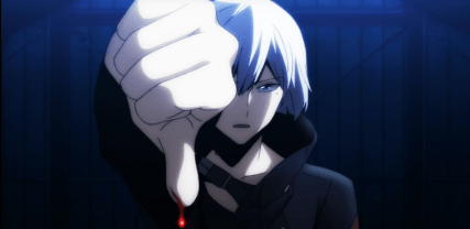 Art activating the Paper minimum-Re Hamatora Episode 3