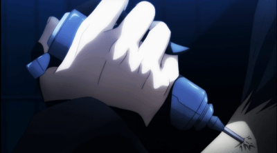 Art injects a poot Minimum Holder-Re Hamatora Episode 3
