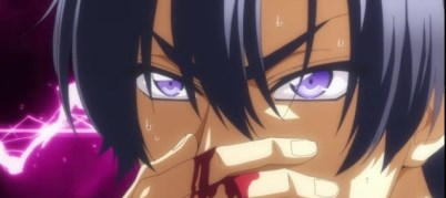 Ryouma nose-bleeding