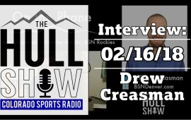 Interview: Drew Creasman | 02/16/18 | Is It Baseball Season Yet?!?