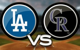 Game of the Week:  Dodgers/Rockies – April 1st