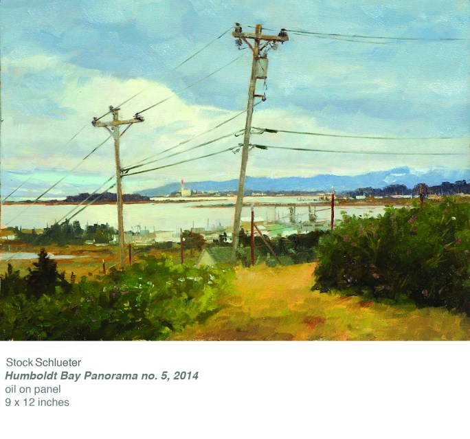 Humboldt Bay #5 (x12 oil on panel copy