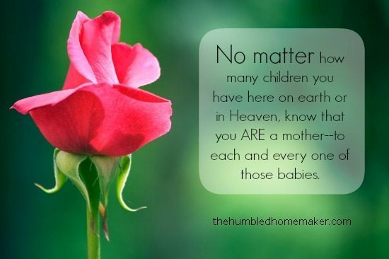 Encouragement for Mothers who Experience Loss