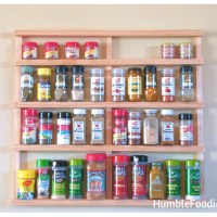 DIY: Build Your Own Spice Rack