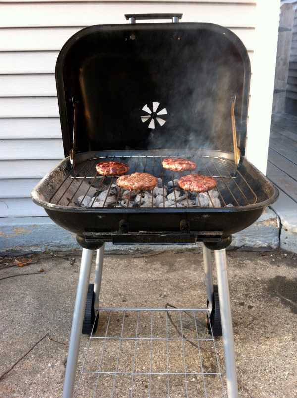 Bbq Grill - 28 3 In 1 Upright Smoker And