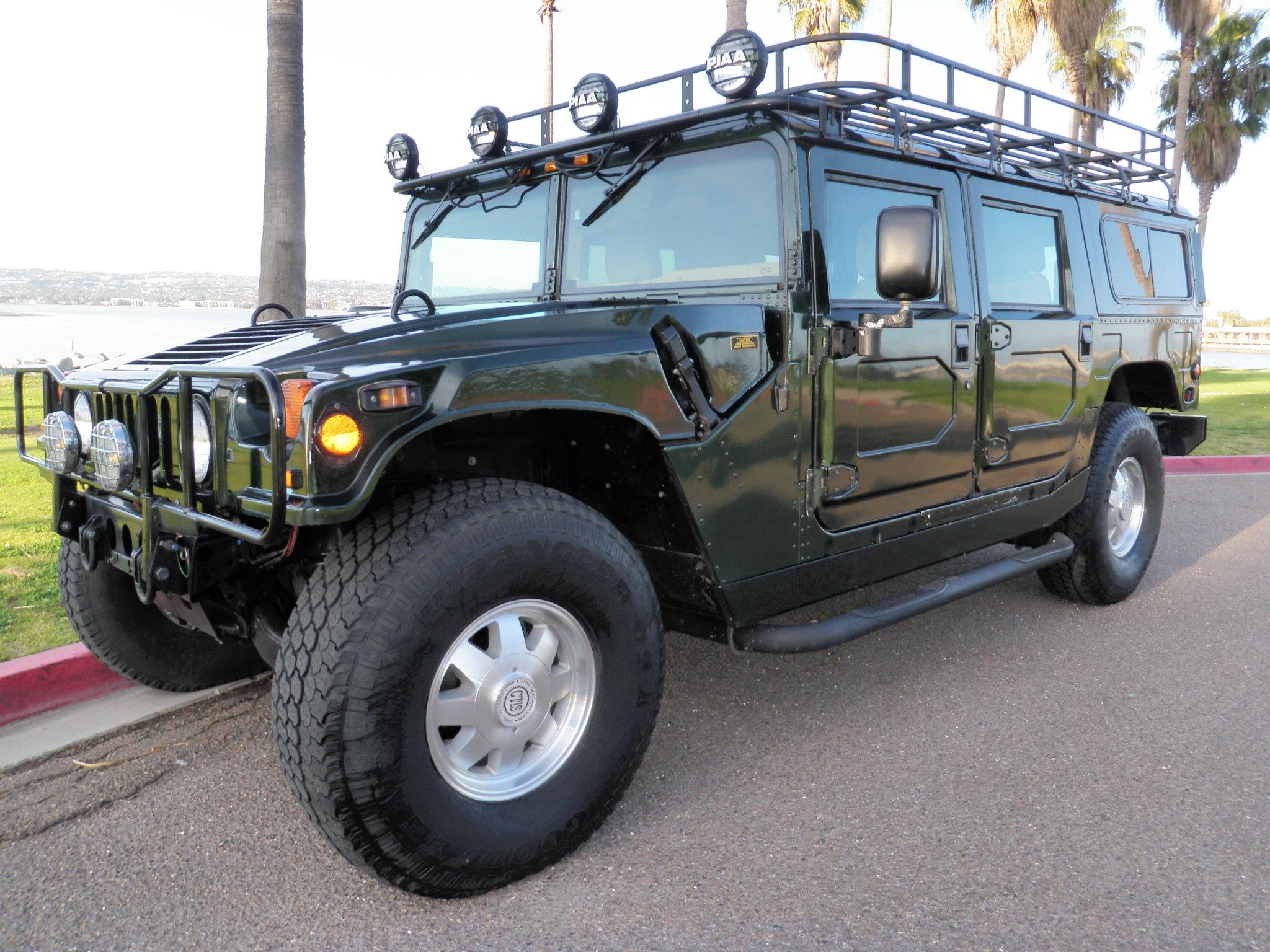 2000 Hummer H1 Wagon 20k miles loaded …sold