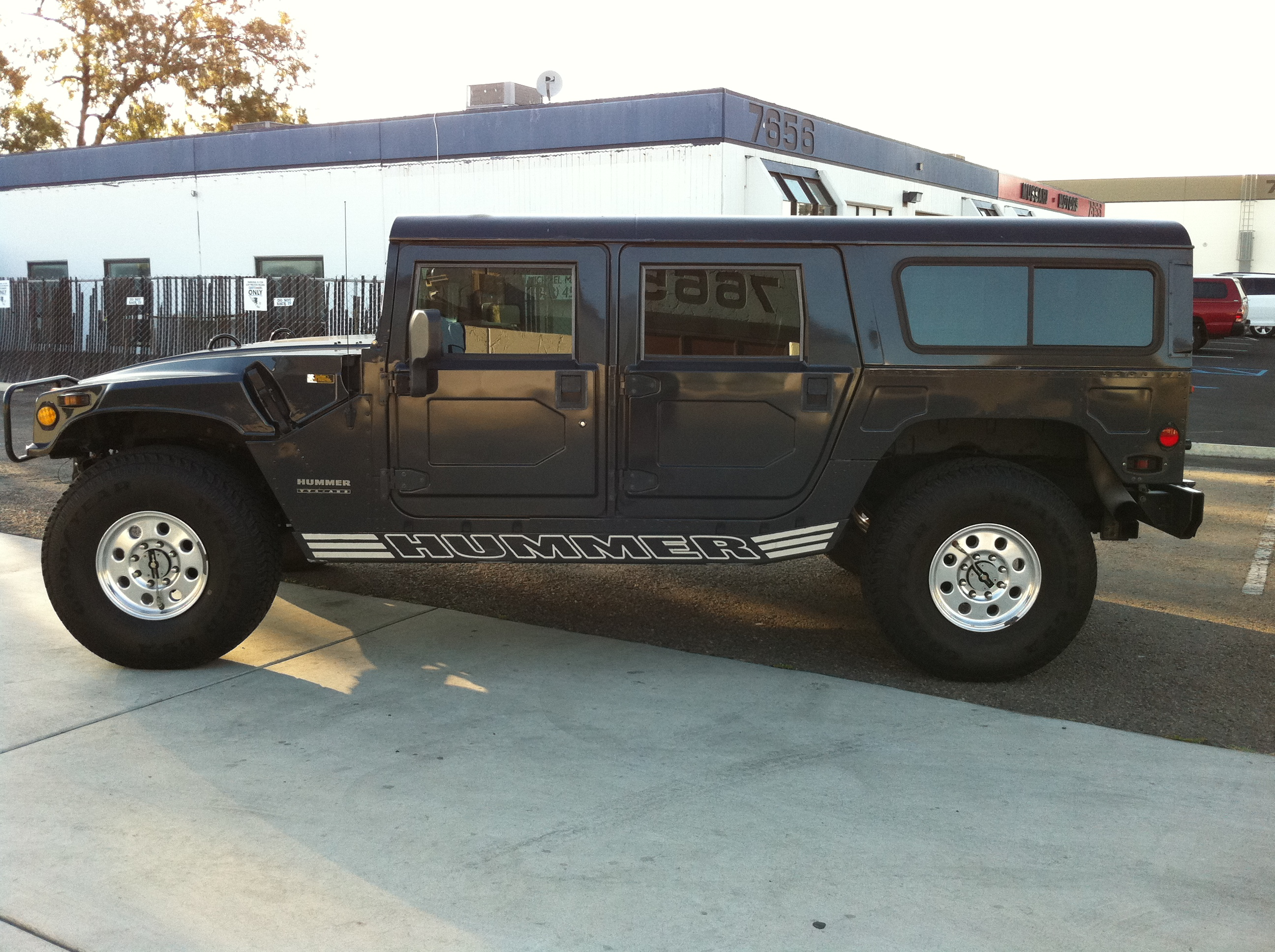 1999 hummer h1 rare 1 of 27 night storm wagons ever produced…… sold
