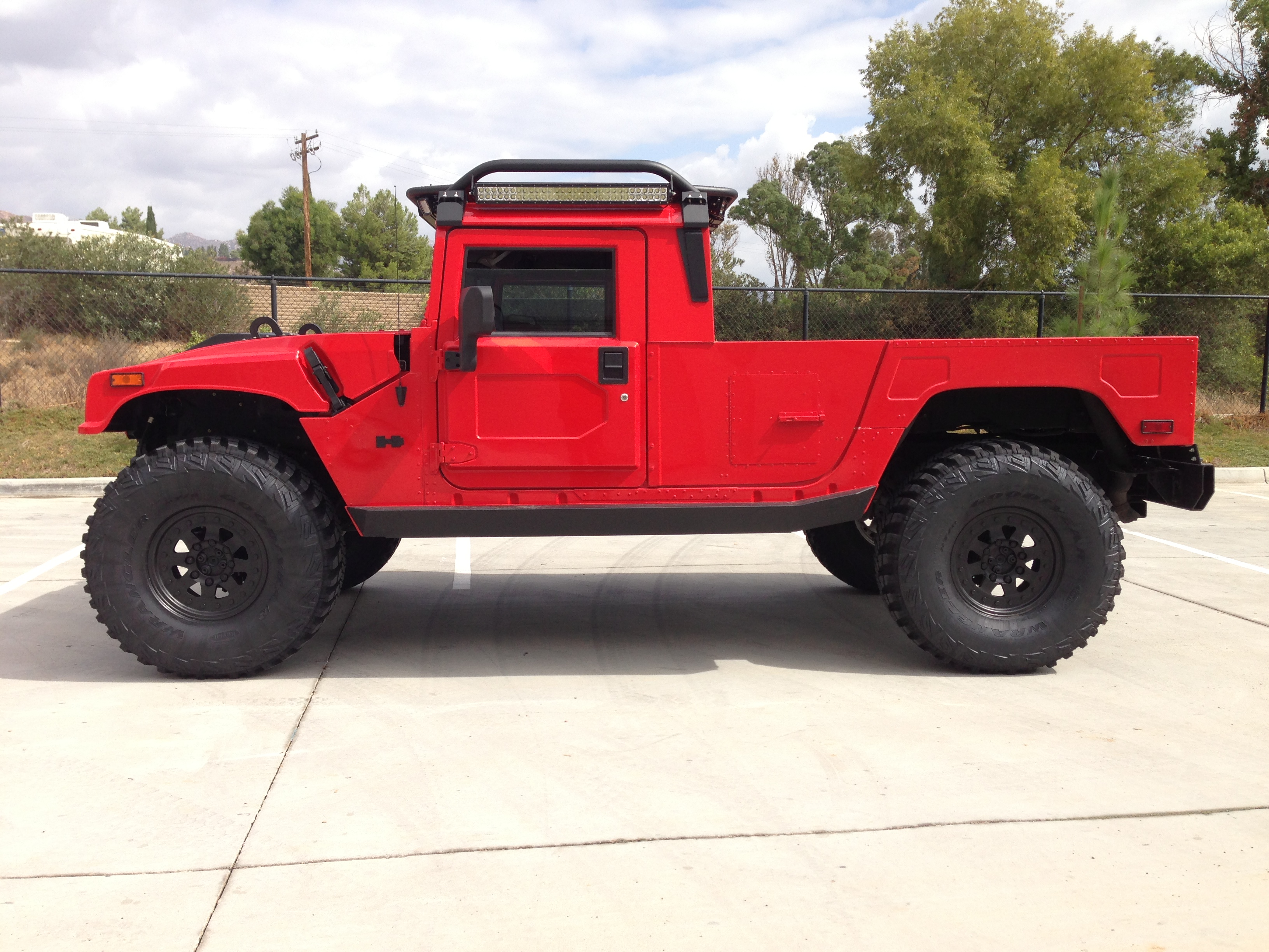 """2003 hummer h1 """"Search and Rescue Overland Series"""" rare 2 door"""