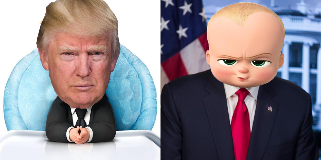 Boss Baby Trump