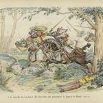 Bertrand du Guesclin captures the Captal, Jean de Grailly