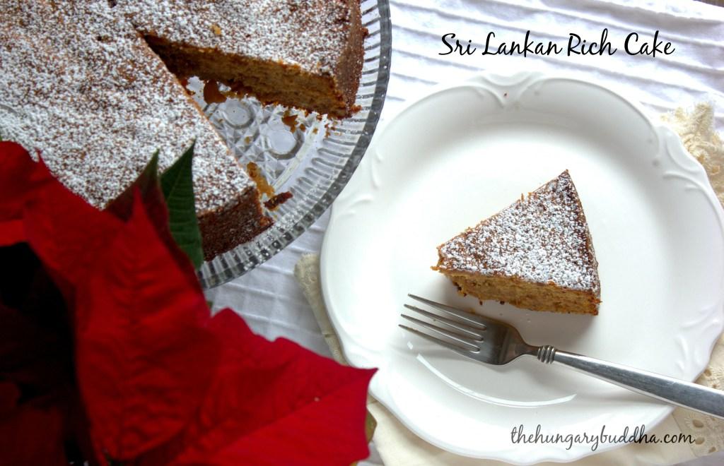If I Ate a Rich Cake…: Sri Lankan Rich Cake