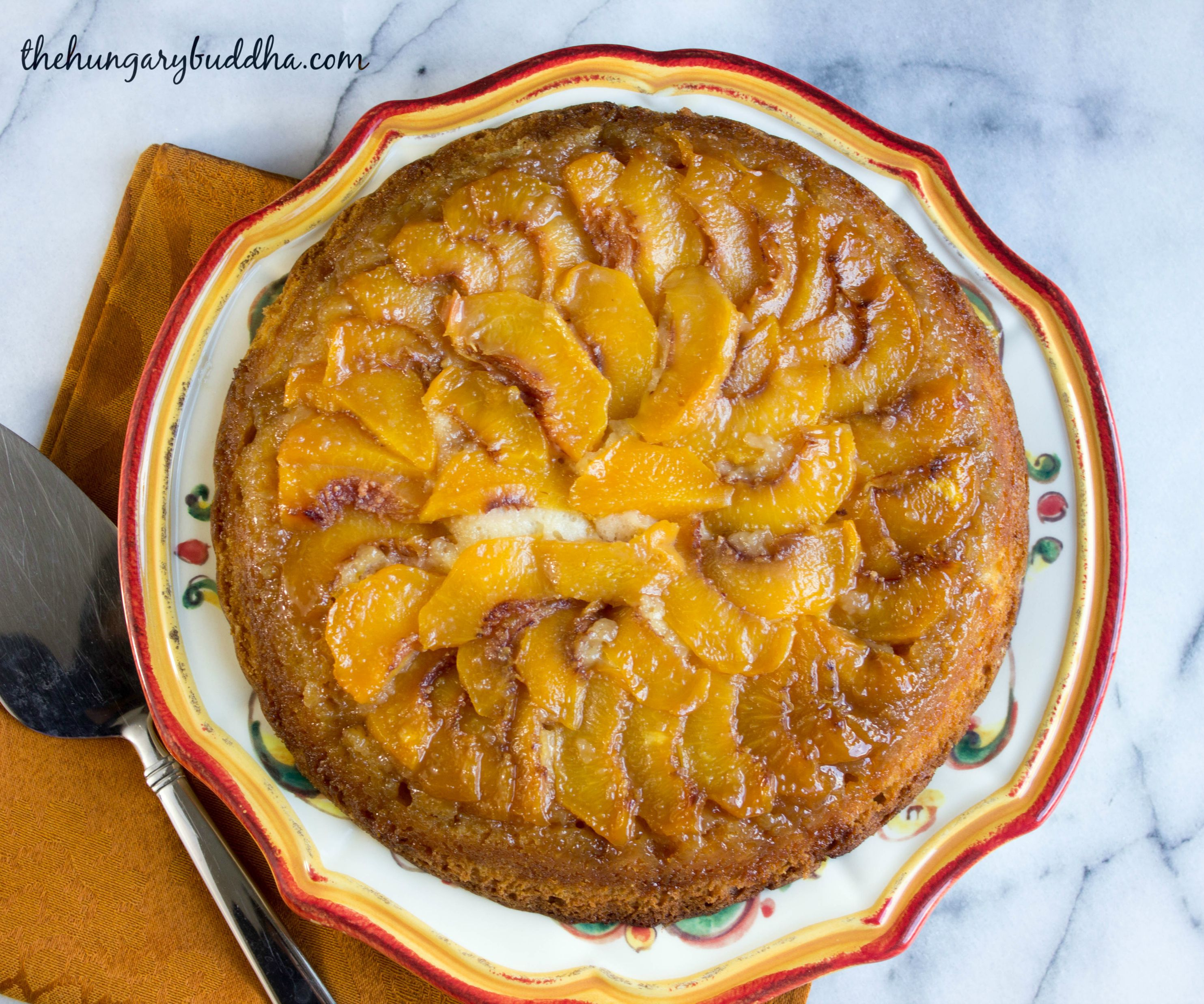 It's All Just Peachy:  Peach Upside Down Cake