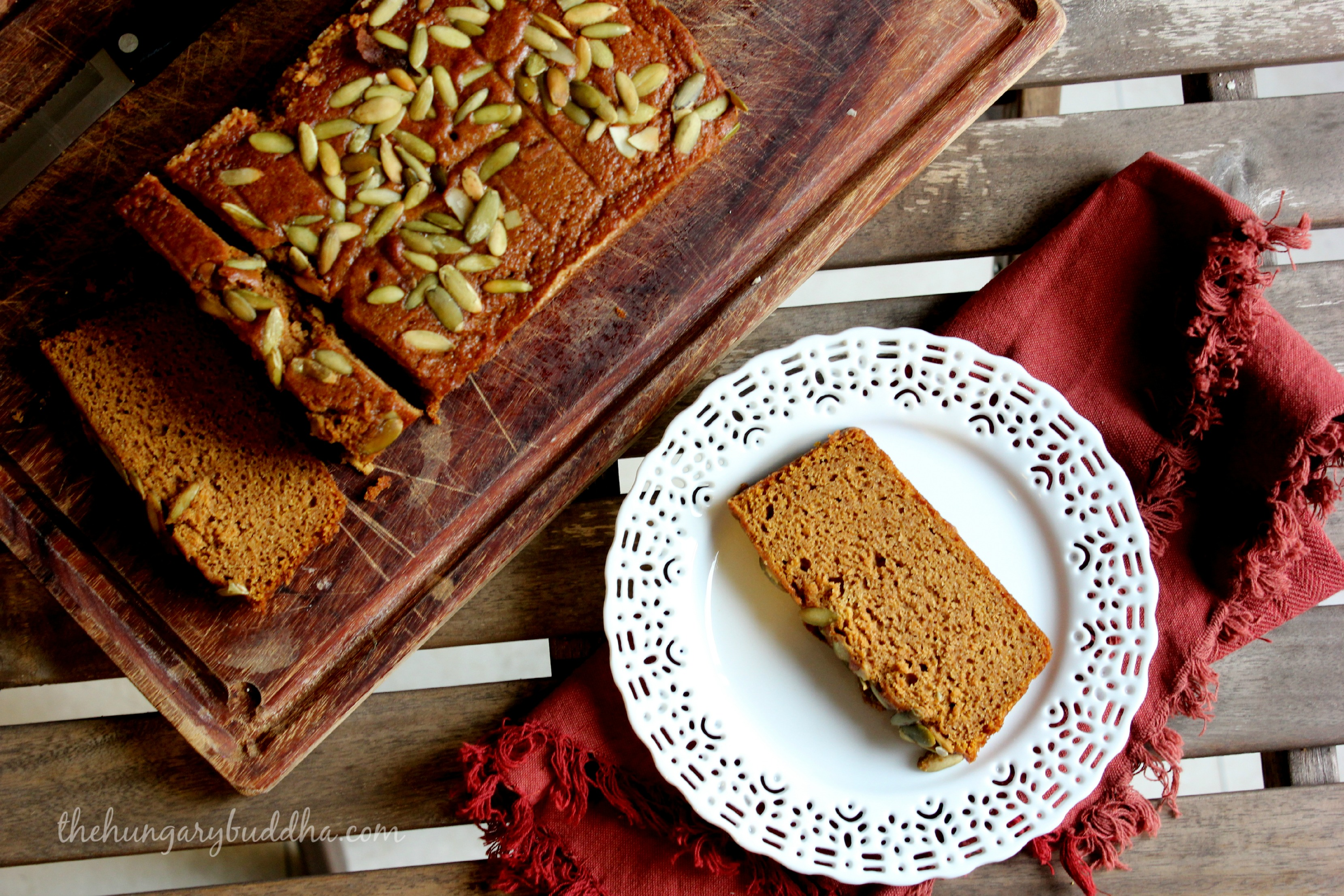 Fall into Fall:  Pumpkin Bread