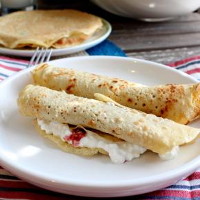Holy-Crepola!, Take Two:  Palacsinta, or Hungarian-style Crepes