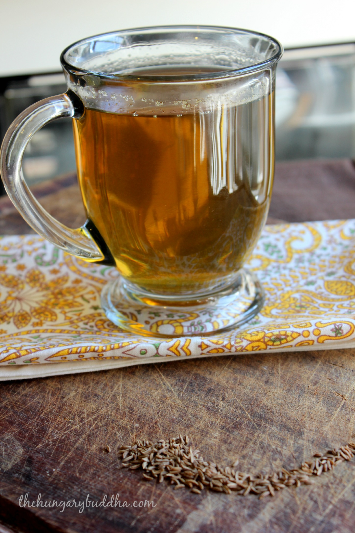 Get Carried Away: Latvian Caraway Tea