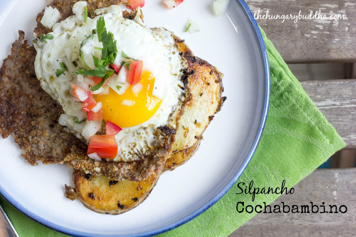Truckin' Along: Silpancho Cochabambino, or Bolivian Steak and Eggs