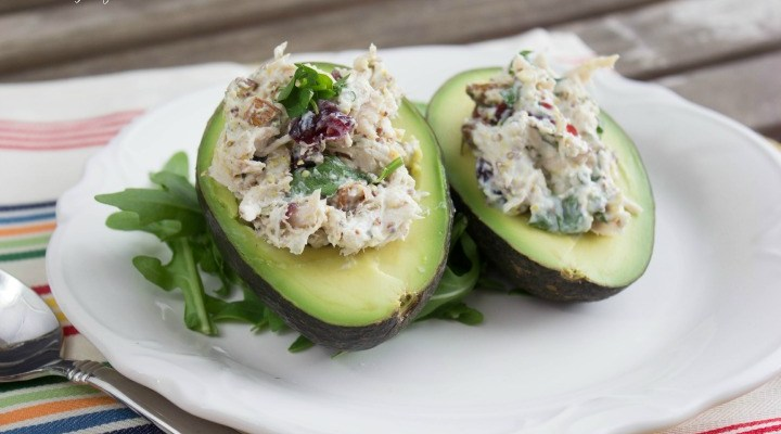 Palta Reina, or Stuffed Avocados