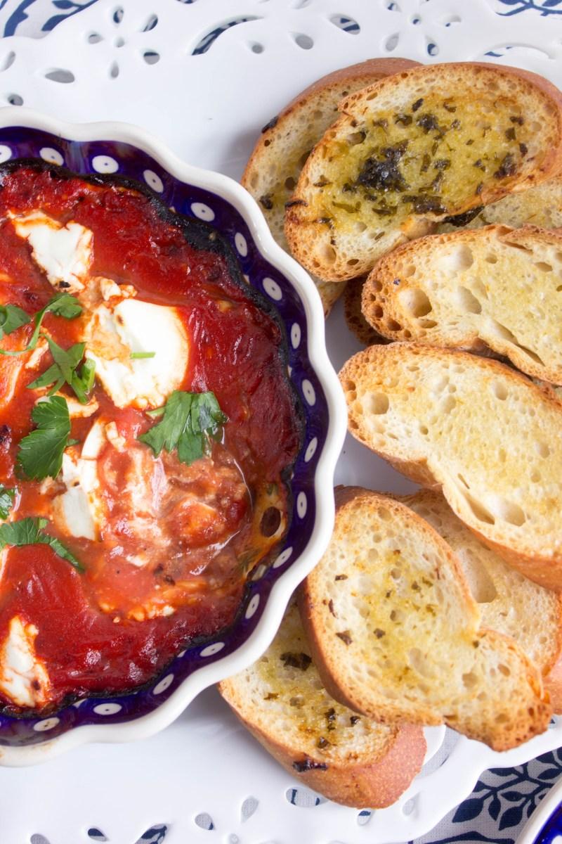 Tomato & Goat Cheese Dip