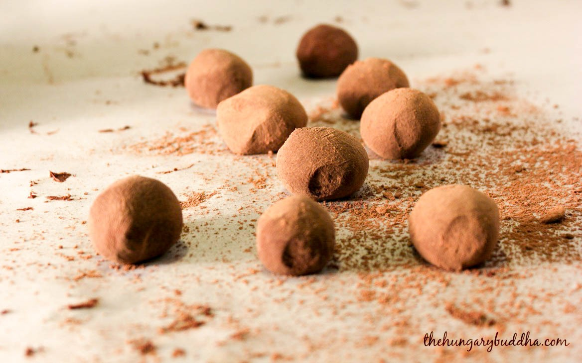 chocolate chai truffles
