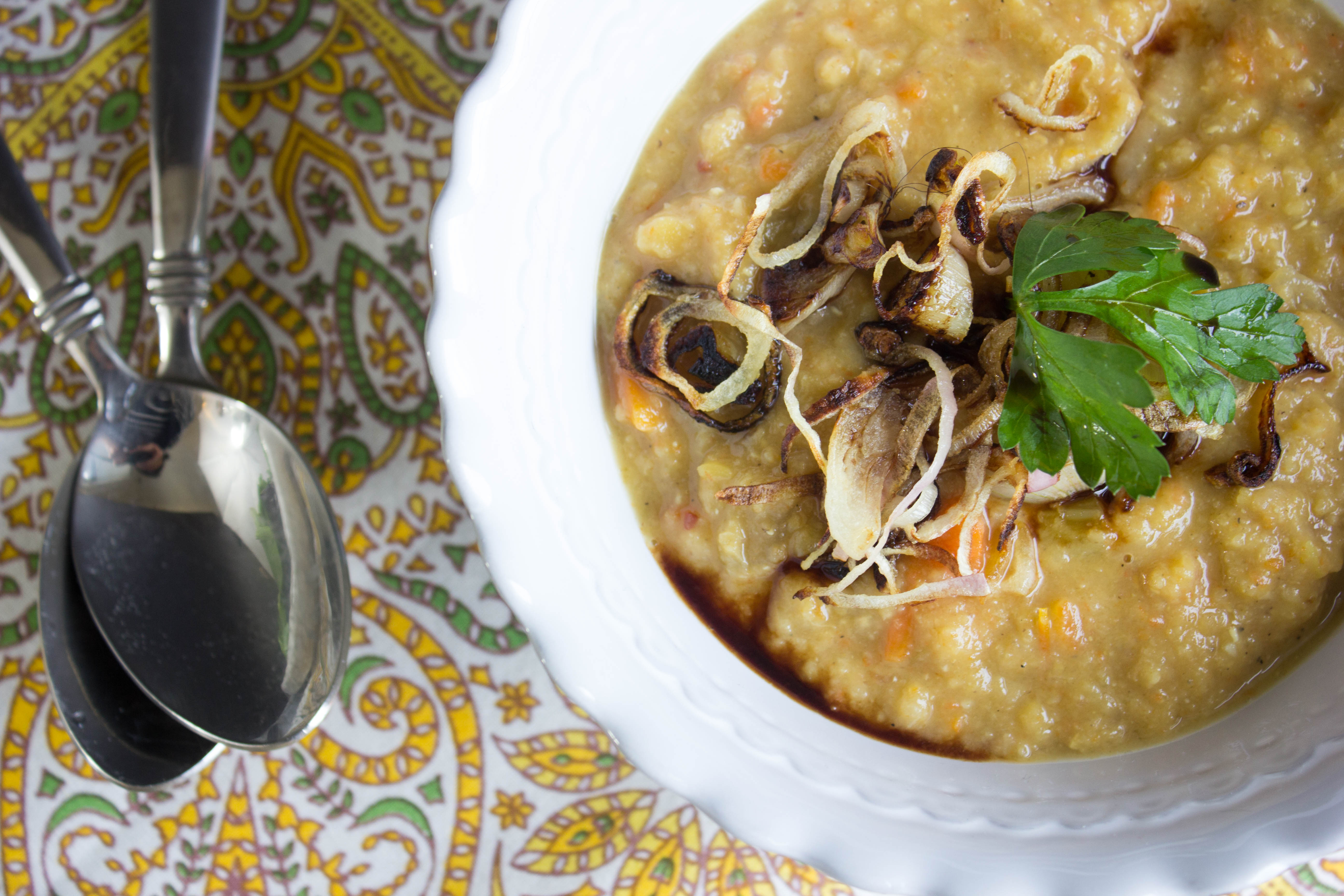 Egyptian Lentil Soup