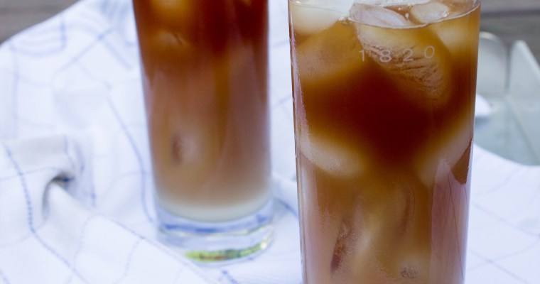 Burmese Iced Tea