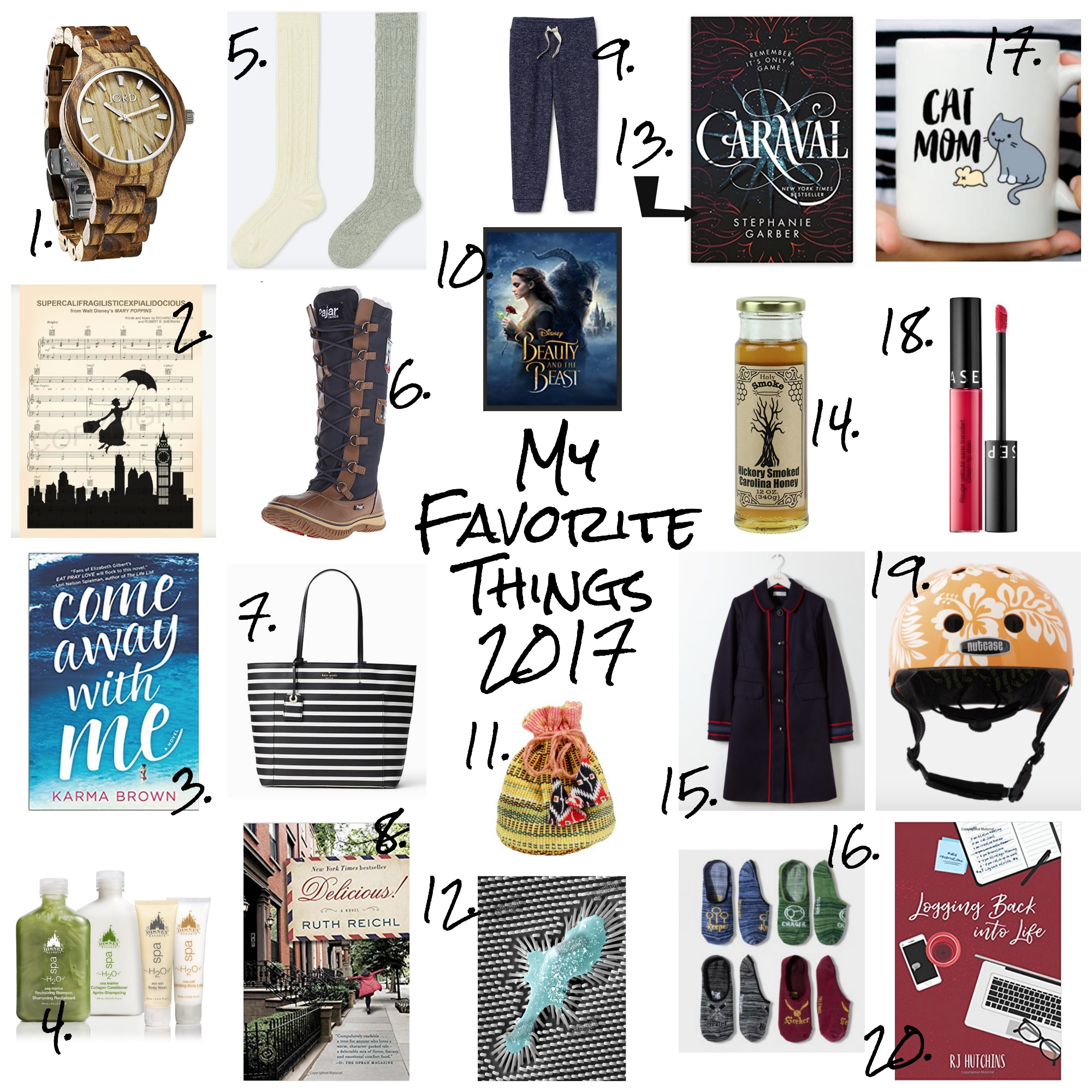 My Favorite Things: 2017