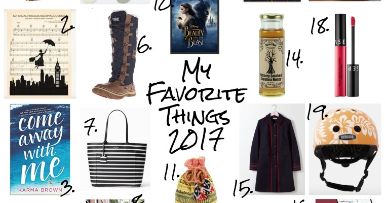 My Favorite Things: 2017