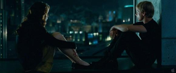 Movie Still: Katniss & Peeta