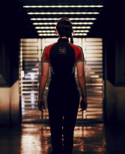Katniss in Her Training Uniform