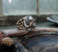 Mockingjay Steampunk Ring