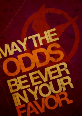 Fan-Made Poster: May The Odds be Ever in Your Favor